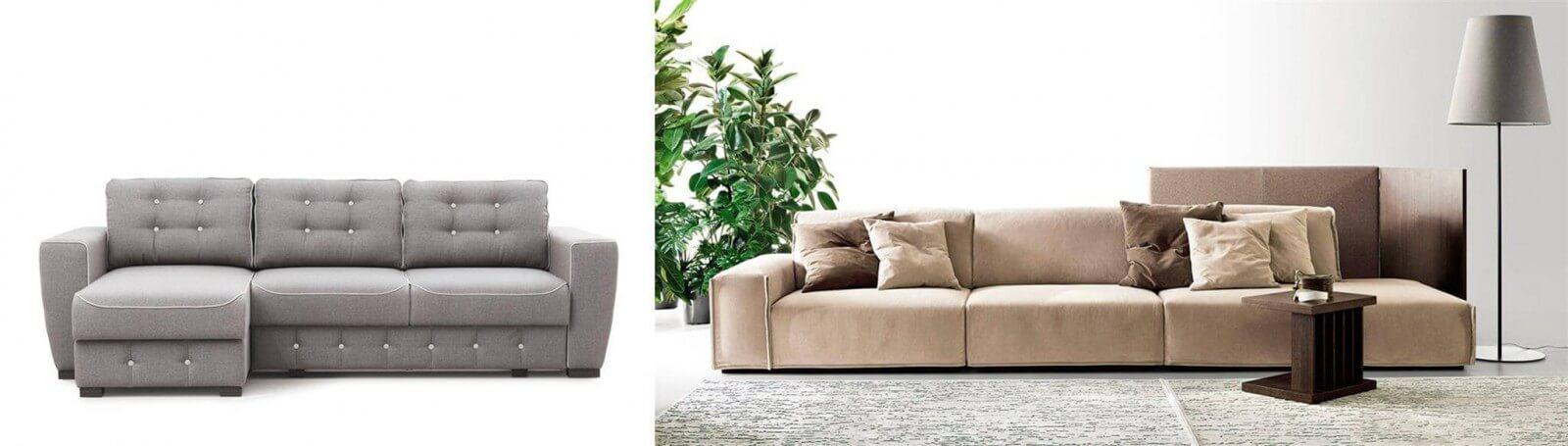 Чим диван за 1000$ відрізняється від дивану за 8000$